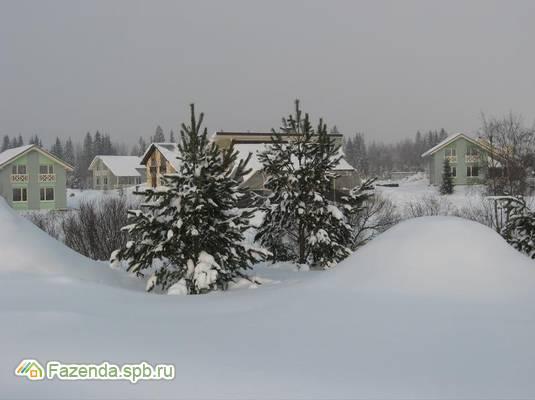 Коттеджный поселок  Охта-Йоки, Всеволожский район.