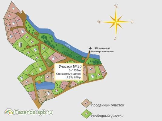 Коттеджный поселок  Горы, Всеволожский район.