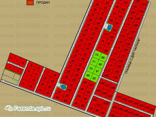Коттеджный поселок  Горки-3, Ломоносовский район.