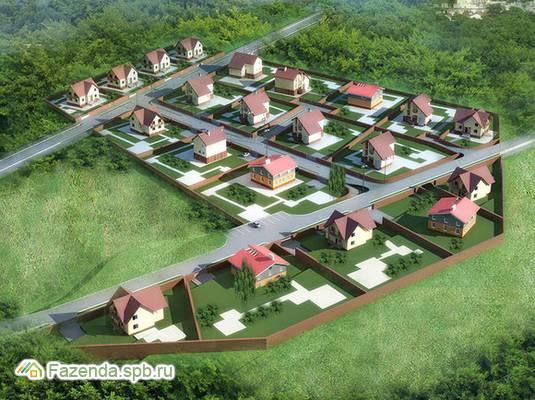 Коттеджный поселок  Зеленая Долина, Всеволожский район.