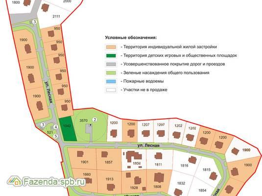 Коттеджный поселок  Вартемяги-33, Всеволожский район. Актуальное фото.