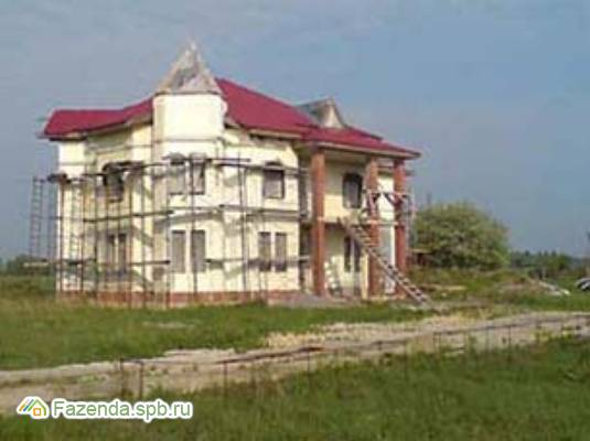 Коттеджный поселок  Новые Борницы, Гатчинский район. Актуальное фото.
