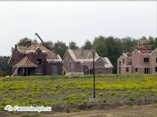 Коттеджный поселок  Бавария, Гатчинский район. Актуальное фото.