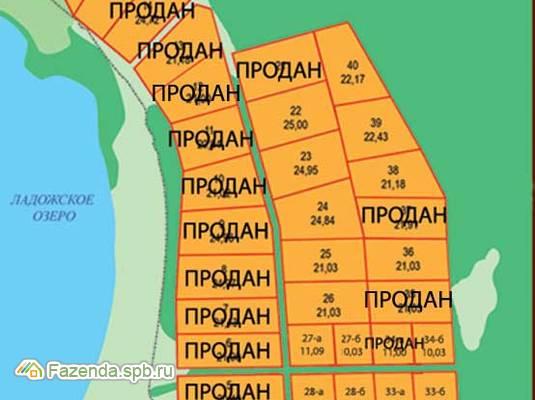 Коттеджный поселок  Ладожский Простор, Волховский район.