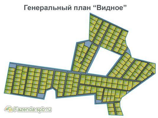 Коттеджный поселок  Видное, Ломоносовский район.