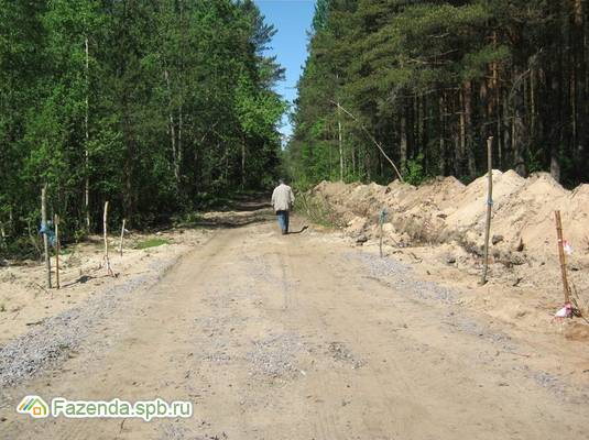 Коттеджный поселок  Зеленый квартал, Кировский район. Актуальное фото.
