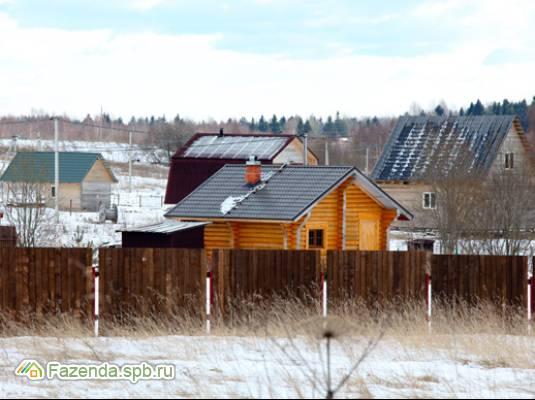 Коттеджный поселок  Озеро Врево, Лужский район.