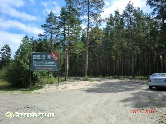 Коттеджный поселок  Вьюн Спрингс, Приозерский район.