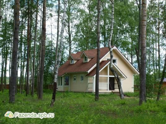 Коттеджный поселок  Vuoksa Holiday Park, Приозерский район. Актуальное фото.