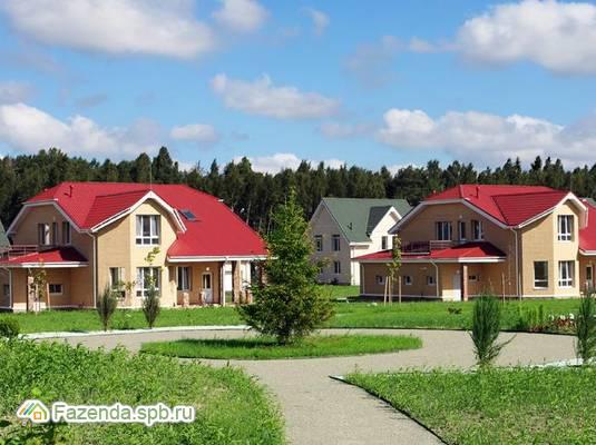Коттеджный поселок  Петергоф-Сити, Ломоносовский район.