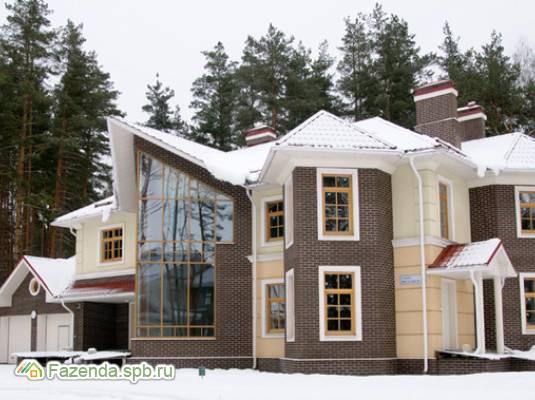 Коттеджный поселок  Мои Пенаты, Курортный район СПб. Актуальное фото.
