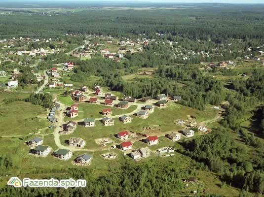 Коттеджный поселок  Зеленые Холмы, Всеволожский район. Актуальное фото.