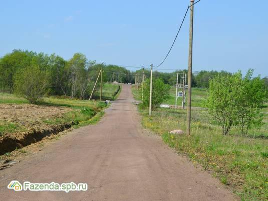 Коттеджный поселок  Ропшинская Долина, Ломоносовский район. Актуальное фото.