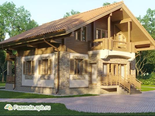 Коттеджный поселок  Club, Приозерский район. Актуальное фото.