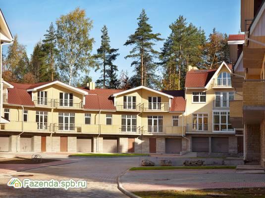 Коттеджный поселок  Bellagio Country Club, Курортный район СПб. Актуальное фото.