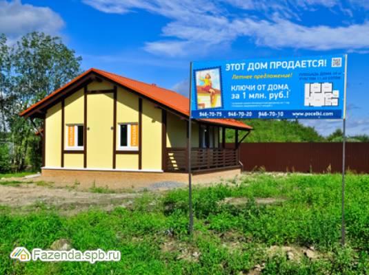 Коттеджный поселок  Ближняя пристань, Всеволожский район. Актуальное фото.