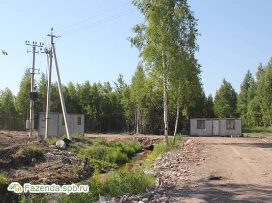 Коттеджный поселок  Ровам, Всеволожский район. Актуальное фото.