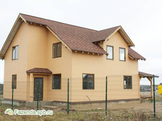 Коттеджный поселок  Дружное, Всеволожский район. Актуальное фото.