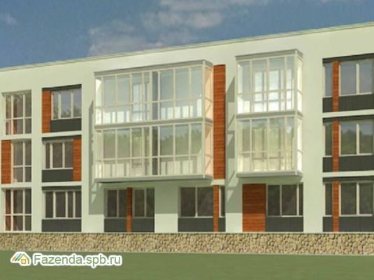 Малоэтажный жилой комплекс Орже, Ломоносовский район.