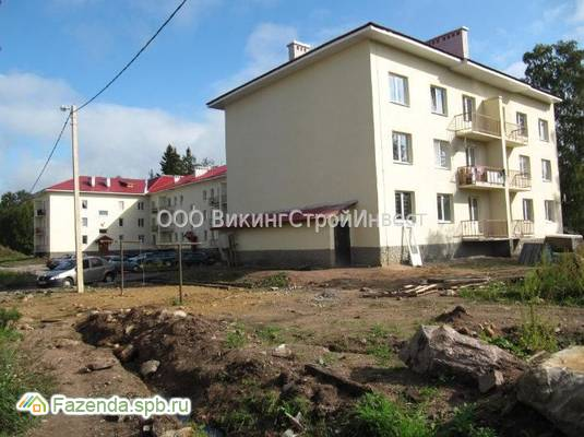 Малоэтажный жилой комплекс Выборг, Выборгский район.
