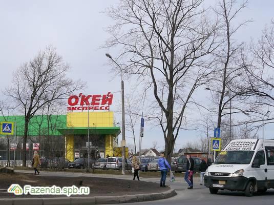 Коттеджный поселок  Город на ладони, Ломоносовский район.