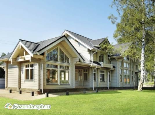 Коттеджный поселок  Дом HONKA в Токсово, Всеволожский район. Актуальное фото.