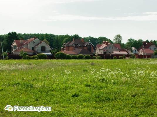 Коттеджный поселок  На речке, Ломоносовский район. Актуальное фото.