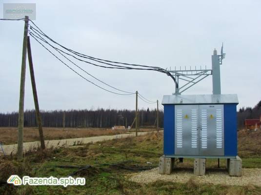Коттеджный поселок  Оредеж, Гатчинский район. Актуальное фото.