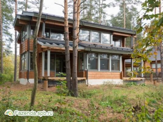 Коттеджный поселок  HONKA FAMILY CLUB, Всеволожский район. Актуальное фото.