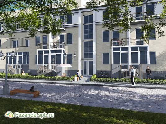 Малоэтажный жилой комплекс Молодежный квартал, Всеволожский район.