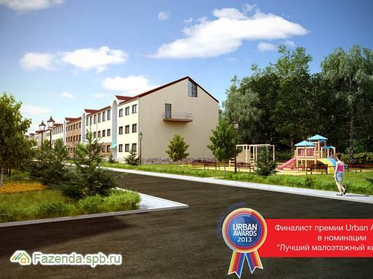 Малоэтажный жилой комплекс Румболово сити, Всеволожский район. Актуальное фото.