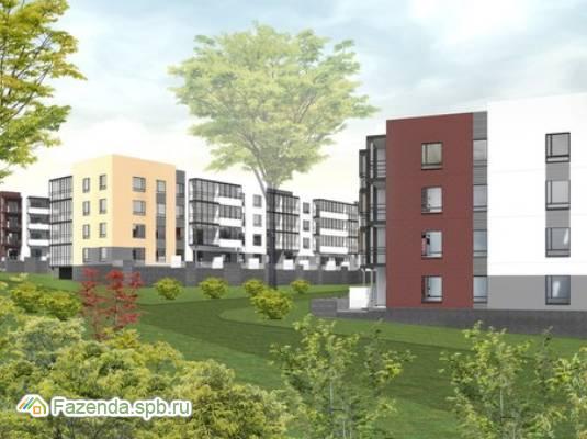 Малоэтажный жилой комплекс Олимпийский, Всеволожский район. Актуальное фото.