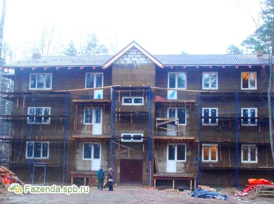 Малоэтажный жилой комплекс Сосновая Горка, Приозерский район.