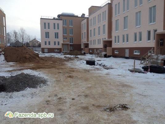Малоэтажный жилой комплекс Коммунар, Гатчинский район.