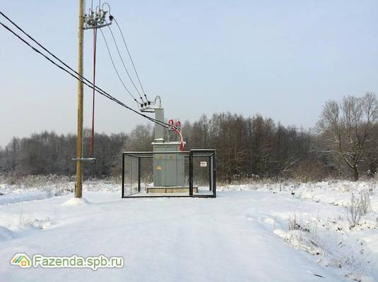 Коттеджный поселок  На Парице, Гатчинский район.