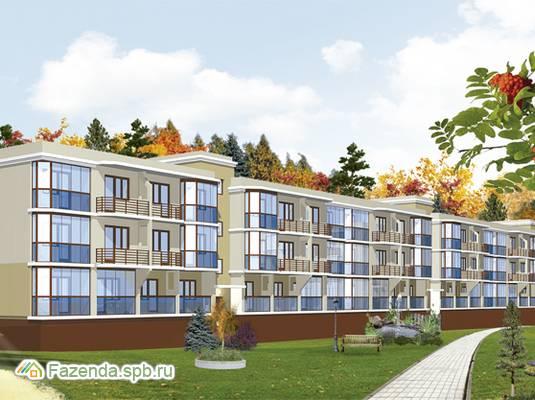 Малоэтажный жилой комплекс Кирккоярви, Выборгский район. Актуальное фото.