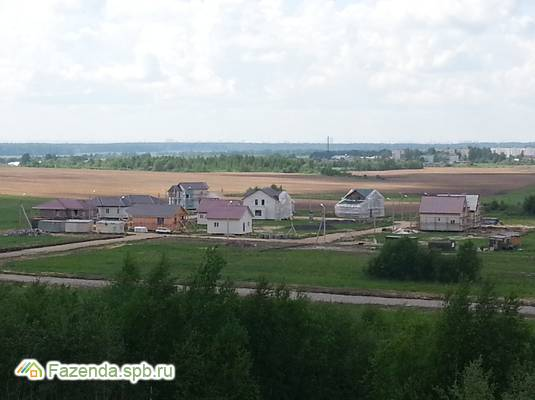 Коттеджный поселок  Солнечная Поляна, Всеволожский район. Актуальное фото.