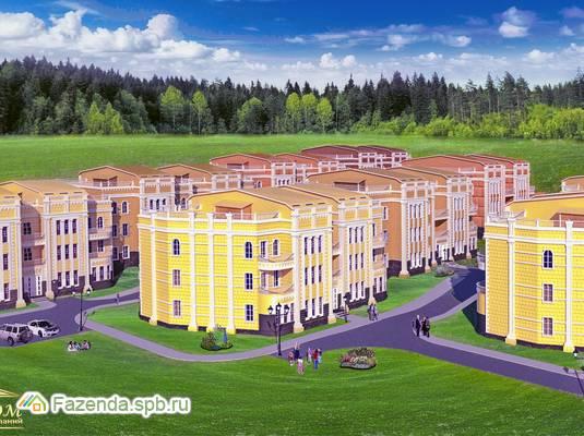 Малоэтажный жилой комплекс Солнечный Каскад, Всеволожский район. Актуальное фото.