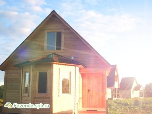 Коттеджный поселок  Речное, Лужский район.