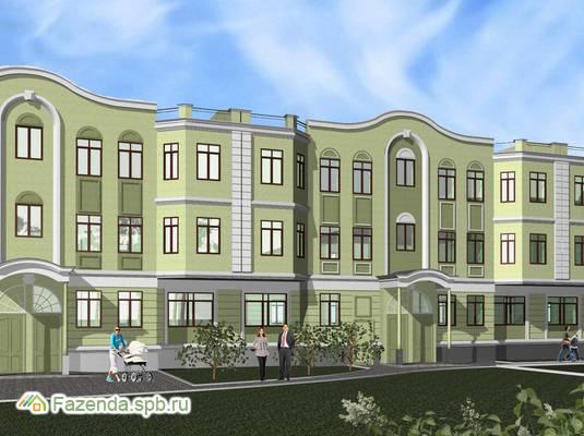 Малоэтажный жилой комплекс Изумрудный, Выборгский район.