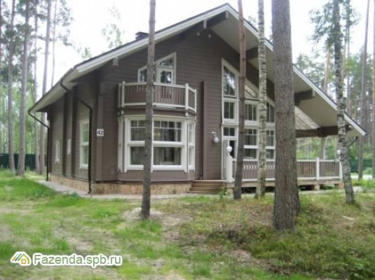 Коттеджный поселок  Сосновый Берег (Ягодное), Приозерский район.