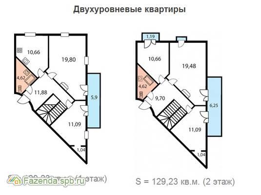 Малоэтажный жилой комплекс Бастион, Пушкинский район.