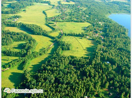 Коттеджный поселок  Александровские берега, Выборгский район.
