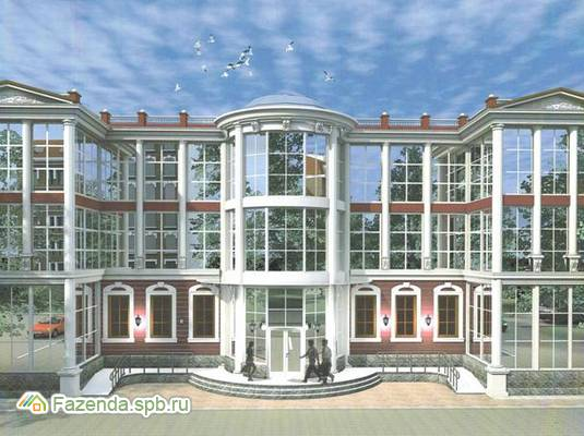 Малоэтажный жилой комплекс Рубиновый Рассвет, Всеволожский район. Актуальное фото.