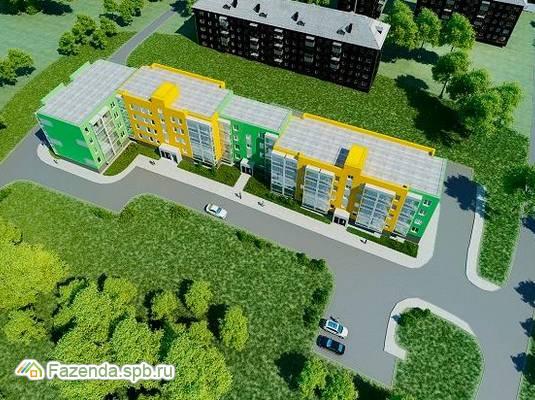Малоэтажный жилой комплекс Пуд счастья, Гатчинский район.