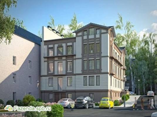 Малоэтажный жилой комплекс Особняк у парка, Гатчинский район.