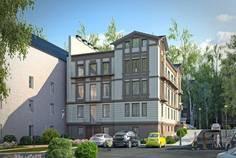 Рядом с Новая Гатчина расположен Малоэтажный жилой комплекс Особняк у парка