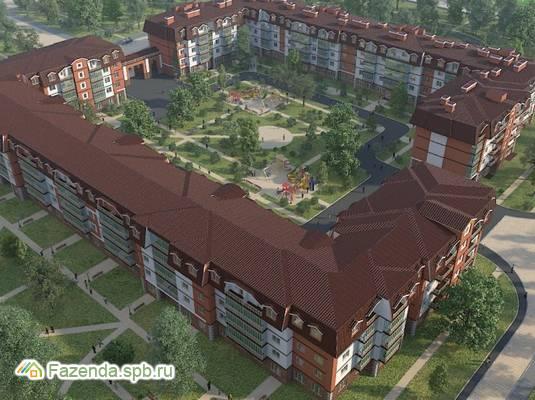 Малоэтажный жилой комплекс Царский двор, Пушкинский район.