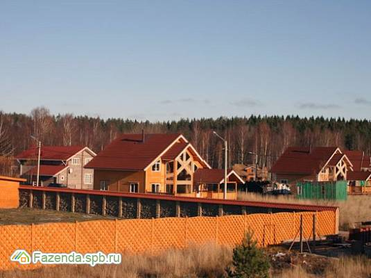 Коттеджный поселок  Зайчихино, Выборгский район.