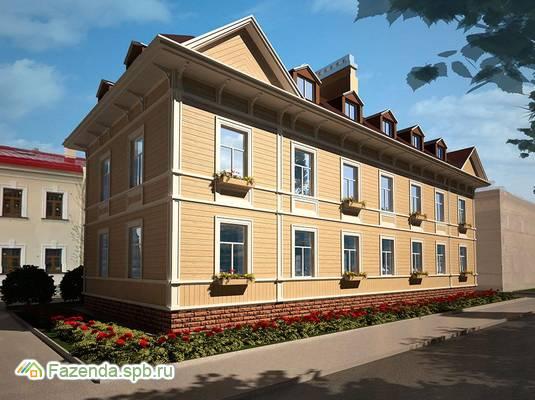 Малоэтажный жилой комплекс Аркадия, Пушкинский район. Актуальное фото.